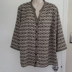 Catherines Blouse Size 1X